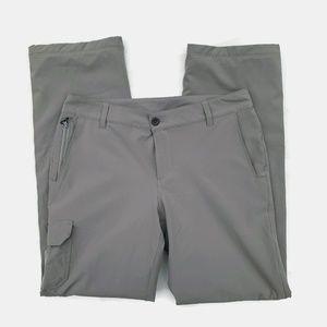 Eddie Bauer Pants - Eddie Bauer Polar Fleece Lined Hiking Pants Gray 8